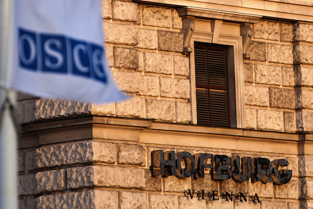 Vienna's Hofburg has hosted the secretariat of the OSCE since 1995.