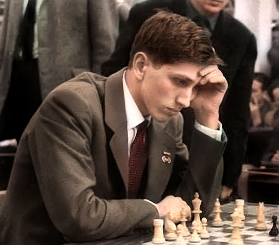 Bobby_Fischer_1960_in_Leipzig_in_color