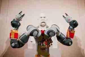 Austrian Emporer Franz Joseph goes cyborgPhoto ©Christoph-Hofbauer