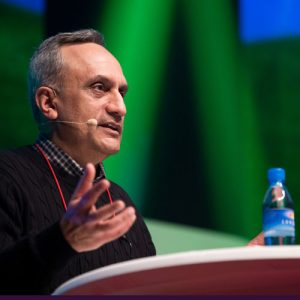 Manoj Bhargava calls for useful invention over useless innovationPhoto ©Daisuke Yoshinari