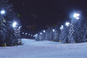 Semmering at night