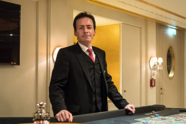 "Croupier Gert Krones won't be shocked if you say ""hit me"" at Casino Wien"