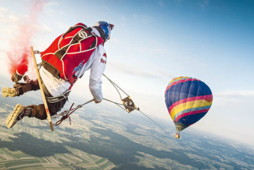 Ever dreamed of jumping out of planes for a living? The Red Bull Skydive Team takes falling to the next level